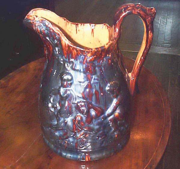 The Bell Pottery Collection was given to the Washington County Historical Society by Frank W. and Roy V. Mish in honor of Mary Vernon Mish.