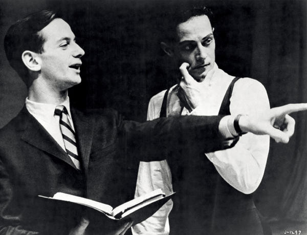 Robert Joffrey (left) and Gerald Arpino in the 1960s.