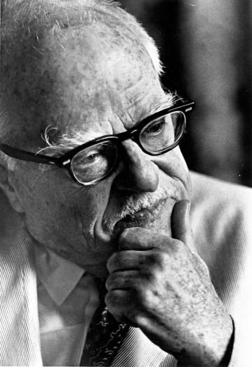 Playwright Thornton Wilder