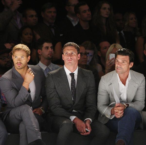 Athletes descended on New York Fashion Week, where they polished their personal brands and tested their reporting for media outlets. Olympian Ryan Lochte, the swimmer with questionable style chops, covered the runways for E! Entertainment. There were enough basketballers on the scene (Russell Westbrook, Chris Bosh) to play a pickup game. (September)