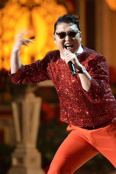 "South Korean pop star Psy's ""Gangnam Style"" was the surprise hit of the year. The song, a dance-y satire of the Beverly Hills-like Gangnam district of Seoul, became an international smash hit after its surreal music video went viral on YouTube. Then its influence quickly spread into all realms of popular culture, including fashion. Psy's stylish sunglasses and powder-blue tuxedo coat were a popular Halloween costume, and designer Jill Stuart has announced plans to team up with Psy on a line of ""Gangnam Style"" clothes that will be exclusive to Asian markets. (September)"