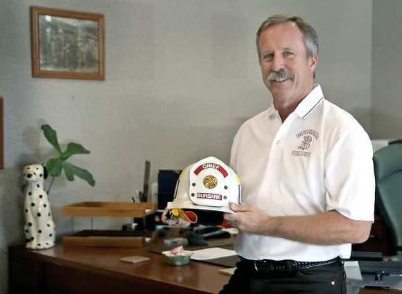 Burbank Fire Chief Ray Krakowski retired Dec. 28, 2012 after a 32-year career with the Burbank Fire Department.
