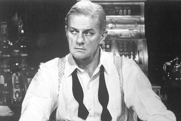 "Actor Charles Durning in a scene from the 1981 production of ""The Monument"" on PBS."