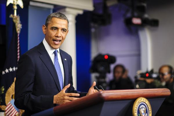 "On The Times' 2013 wish list: Meaningful gun control legislation, a thriving economy and the successful implementation of the insurance exchanges created by the Patient Protection and Affordable Care Act, a.k.a. Obamacare. Above: President Obama speaks about ""fiscal cliff"" negotiations during a press conference at the White House on Dec. 28."
