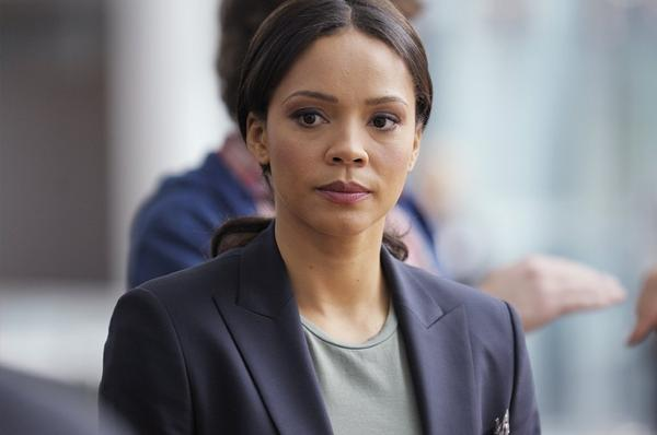 "Carmen Ejogo stars as an FBI agent in ABC's new drama ""Zero Hour."""
