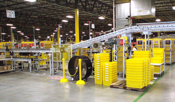 OSHA employees inspected the Amazon.com warehouse in Lower Macungie Township this summer. Workers complain about conditions at Amazon.com warehouse in Upper Mac.