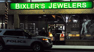PICTURES: Robbery at Bixler's Jewelers in South Whitehall Township.