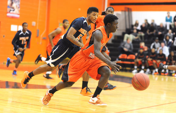 Oakland Mills vs Douglass boys basketball
