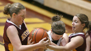 Ipswich girls rally for 44-38 victory against South Border