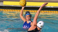 Corona del Mar High's Eliza Britt shoots against Dos Pueblos.