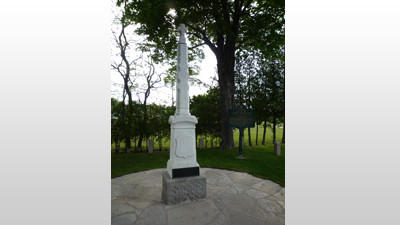 Father Jacques Marquette is buried in St. Ignace.