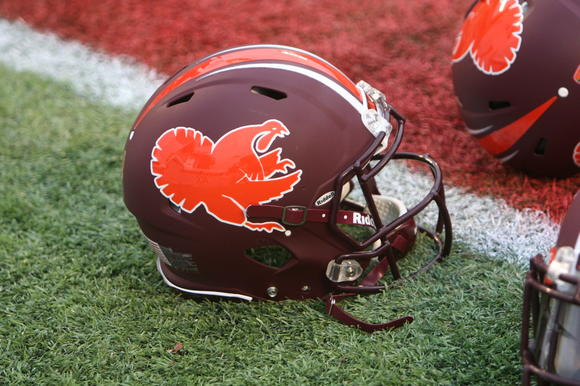 "Virginia Tech Hokies ""Fightin Gobbler"" helmet"