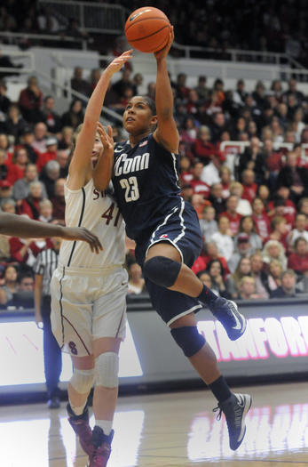 UConn Women At Stanford