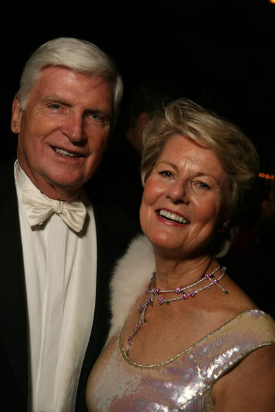 Pat and Shirley Ryan at the Lyric Opera of Chicago Opening Night Benefit and Opera Ball in 2006.