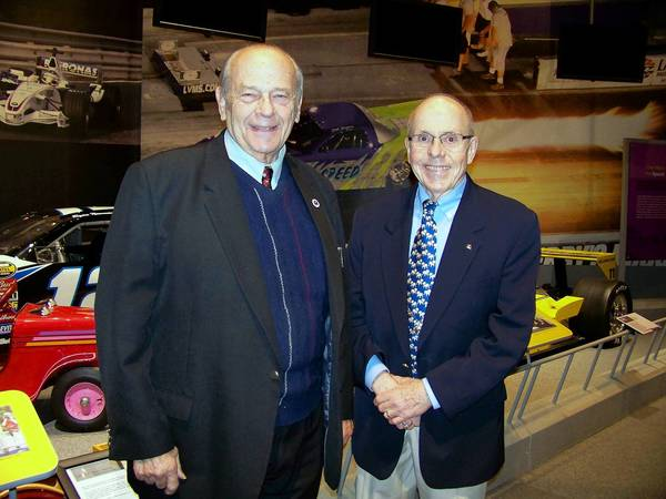 America on Wheels board members David Bausch and Paul Ritter were at the museum's 5th annual Moonlight Memories Gala on Nov. 30.