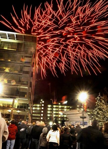 Fireworks will help mark the city of Allentown's New Year's celebration.