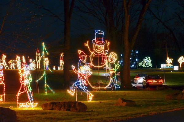 Allentown;s 17th annual Lights in the Parkway features hundred of pieces, many featuring LED for energy savings.