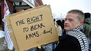 Second Amendment supporters braved the cold Saturday during a rally in Martinsburg, vowing to never compromise their right to bear arms following a deadly school shooting that has left some lawmakers calling for a ban on certain types of guns.