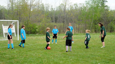 U12 and VIP soccer players compete in a game from May. North Star Region 430 will offer a Very Important Player program for the second year to allow disabled children/adults the chance to play soccer.