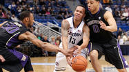 With all its problems rebounding, the UConn men's basketball team has had to find numerous ways to win this season.