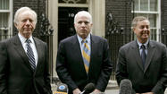 McCain, Graham and Lieberman Tour Europe