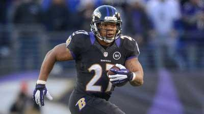 Ray Rice not expected to play today