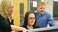 Anne Arundel Community College students Marcelle Lee of Severna Park and Dustin Shirley of Odenton had never taken a digital forensics course at the school until this past summer, but they are fast learners.