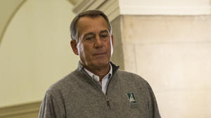 Boehner: Obama won't stand up to his own party on 'fiscal cliff'