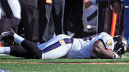 Notebook: John Harbaugh says injuries to Leach, Osemele are not serious