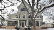 "Love may not be all around, but snow is certainly around the Minneapolis house used for exterior shots on ""The Mary Tyler Moore Show,"" which is on the market at $2.895 million."