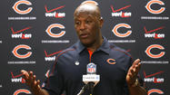 <strong>The Chicago Bears' season is over.</strong> Same goes for Lovie Smith's run as Bears coach. Has to be.