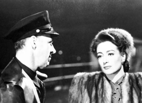 "Joan Crawford in ""Mildred Pierce,"" 1945. The Oscar-winning actress' career spanned an astonishing 47 years from the silent era to the early '70s. She's seen here in ""Mildred Pierce"" in 1945."