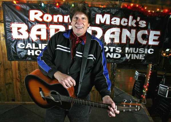 Ronnie Mack, who has hosted Ronnie Mack's Barndance for 25 years, will present his last show in early January at Joe's Great American Bar & Grill in Burbank.