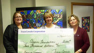 Aspire receives $2,000 donation from TransCanada