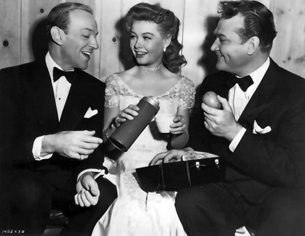 "Fred Astaire, Vera-Ellen and Red Skelton in ""Three Little Words"""