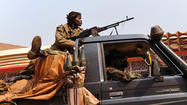 JOHANNESBURG, South Africa -- The African Union on Monday warned rebels who are threatening to oust the Central African Republic government that they would face isolation in Africa, suspension from the organization and sanctions if they do so.