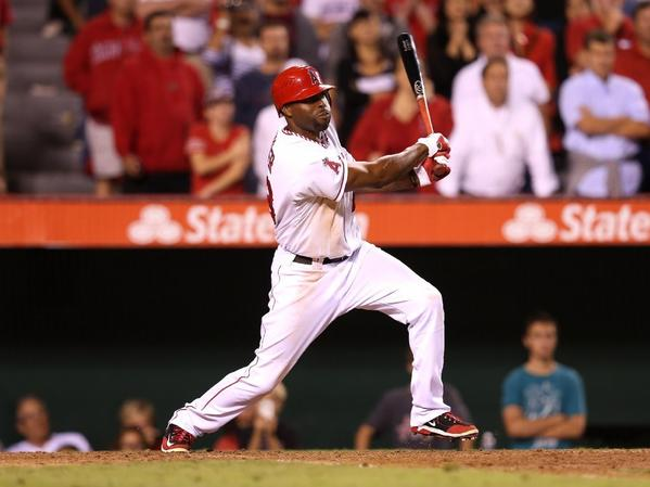 Torii Hunter was with the Angels for five seasons.