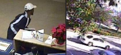 FBI releases several surveillance photos taken during robbery at the AmTrust Bank in Sunrise.