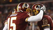 Sunday night's big victory by the Washington Redskins over the Dallas Cowboys set a record for NBC prime time TV -- and that's saying something for the No. 1 show on television.