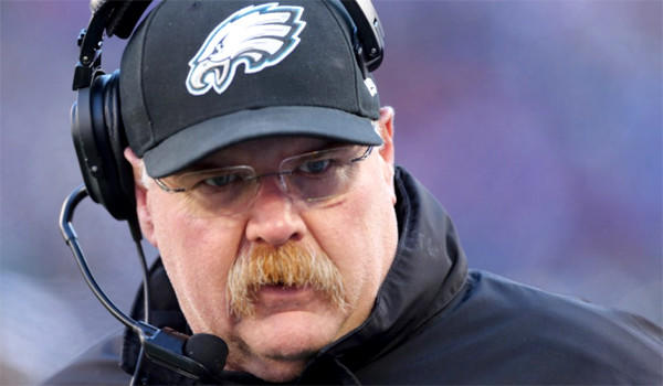 After 14 seasons at the helm the Philadelphia Eagles fired Coach Andy Reid in a long anticipated move following team owner Jeffrey Lurie's offseason proclamation that an 8-8 record would not be acceptable. The Eagles went 4-12 this season.