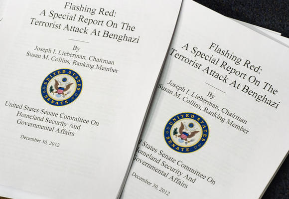 Senate Benghazi attack report