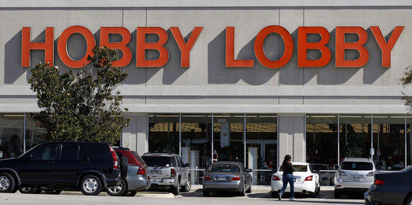 "Hobby Lobby has said that it will defy the Affordable Care Act by refusing to provide insurance to workers that will cover contraceptives that its owners consider to be ""abortion-causing drugs and devices."""