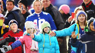 Pictures: Giants Host, Honor Sandy Hook Elementary Community
