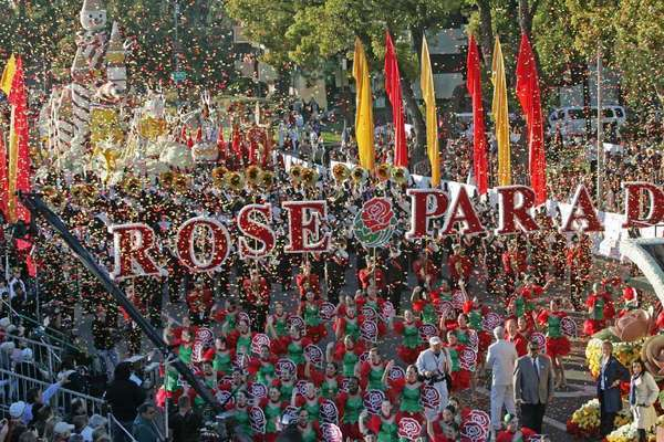 The Roses Parade is expected to draw between 700,000 and 1 million viewers, Pasadena officials predict.