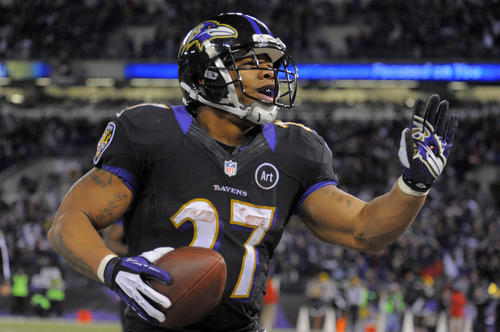 If you're just focused on numbers, Ray Rice had his least productive season since his rookie year in 2008. However, while the rest of the offense battled inconsistency, Rice scored 10 touchdowns, was among the league leaders in all-purpose yards and earned another Pro Bowl berth. Jacoby Jones may have won the Ravens two key games with return touchdowns, but Rice remained the offense's most consistent and reliable performer.