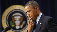 Obama urges Congress to reach a 'fiscal cliff' deal