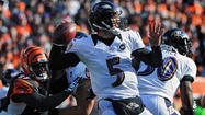 One of this weekend's AFC playoff games pits the Ravens against the Indianapolis Colts. There are many storylines linked to Sunday's contest including the history between Baltimore and Indianapolis, the inspiring story of Colts coach and former Ravens defensive coordinator Chuck Pagano, and the impending return of former Ravens like defensive end Cory Redding, free safety Tom Zbikowski and offensive lineman Joe Reitz.