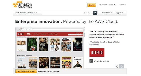 Amazon has apologized for an outage to its cloud-computing service, which affected Netflix and other websites.