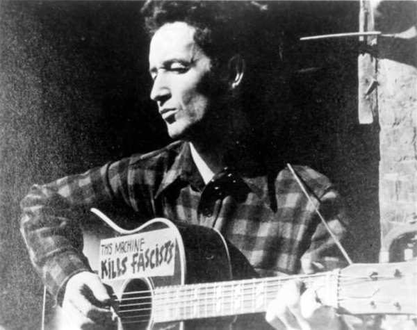 Folk troubadour Woody Guthrie wrote 33 new year's resolutions at the outset of the year 1942.