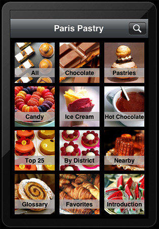 "David Lebovitz' app ""Paris Pastry"" reveals 300 and more of his favorite spots of pastries, chocolate, ice cream and more."